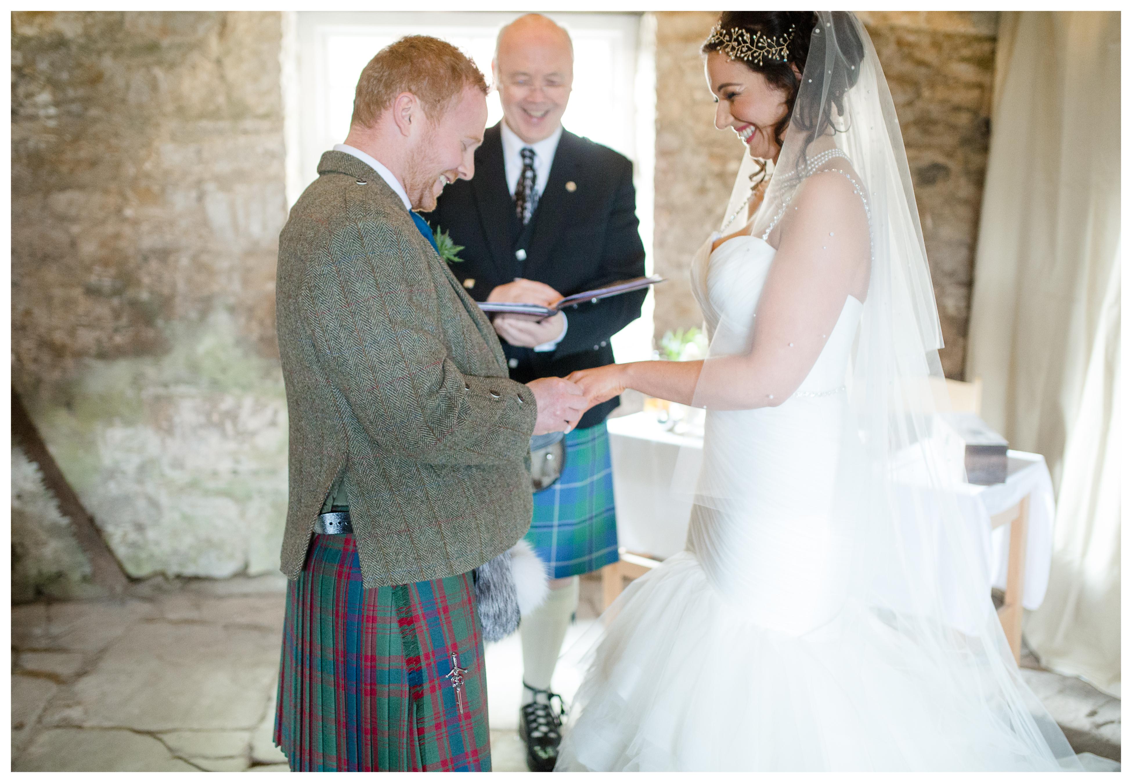 Rachel + Ricky (Elgin, Scotland Wedding) - Simply Green Photography