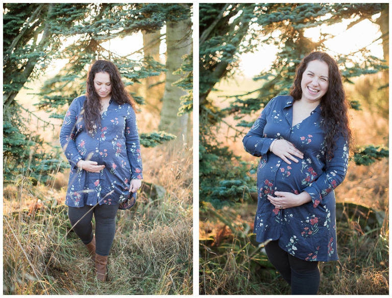 Aberdeen Scotland Maternity Photographer heartstrings